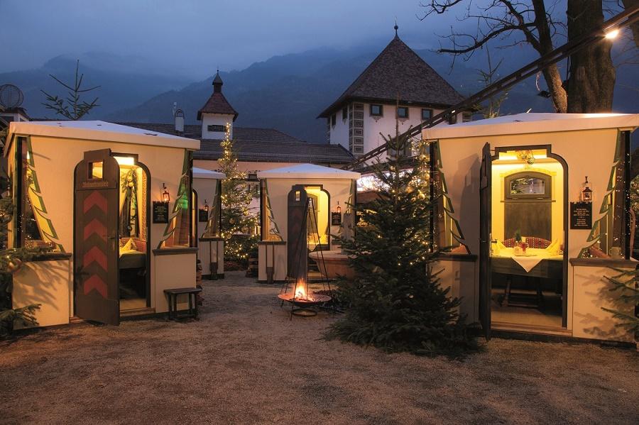 Ha aperto le porte la foresta natalizia for Giardino forst