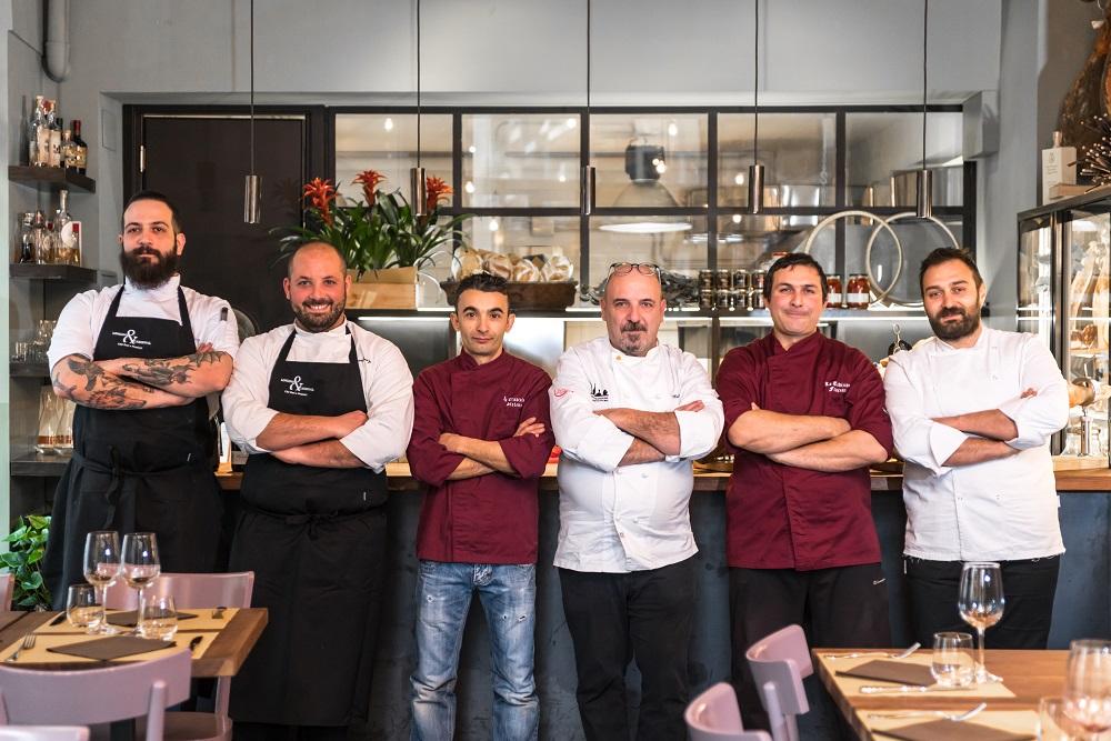 Jacopo Ricci, Piero Drago, Stefano Lobina, Marco Marcelli, Francesco Praticò, Francesco Di Lorenzo