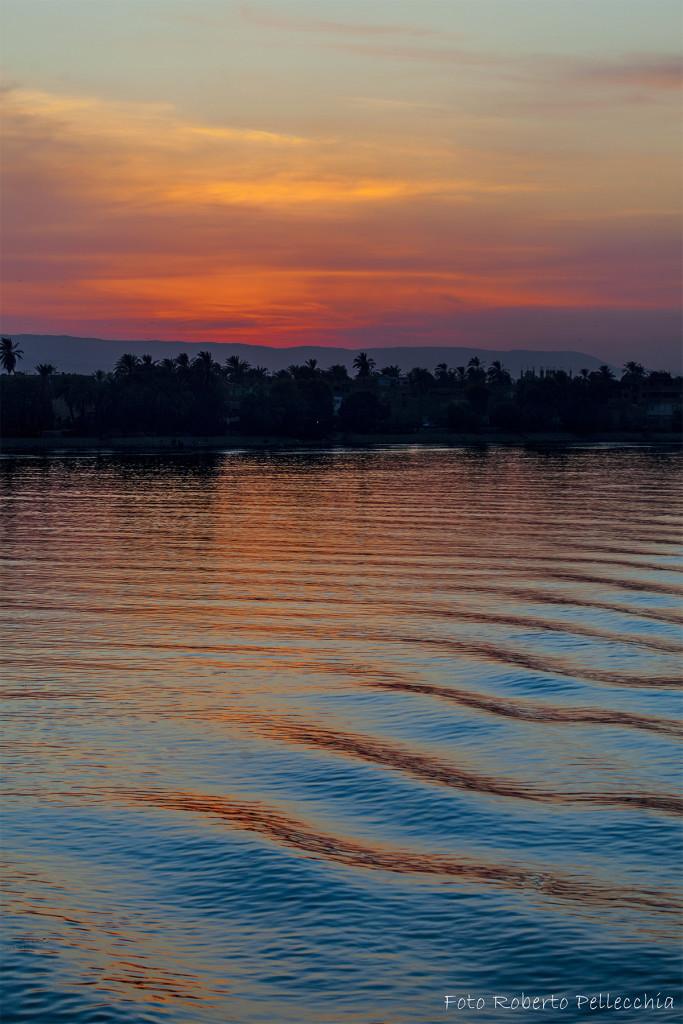 Egitto 14 fb colori serali del Nilo