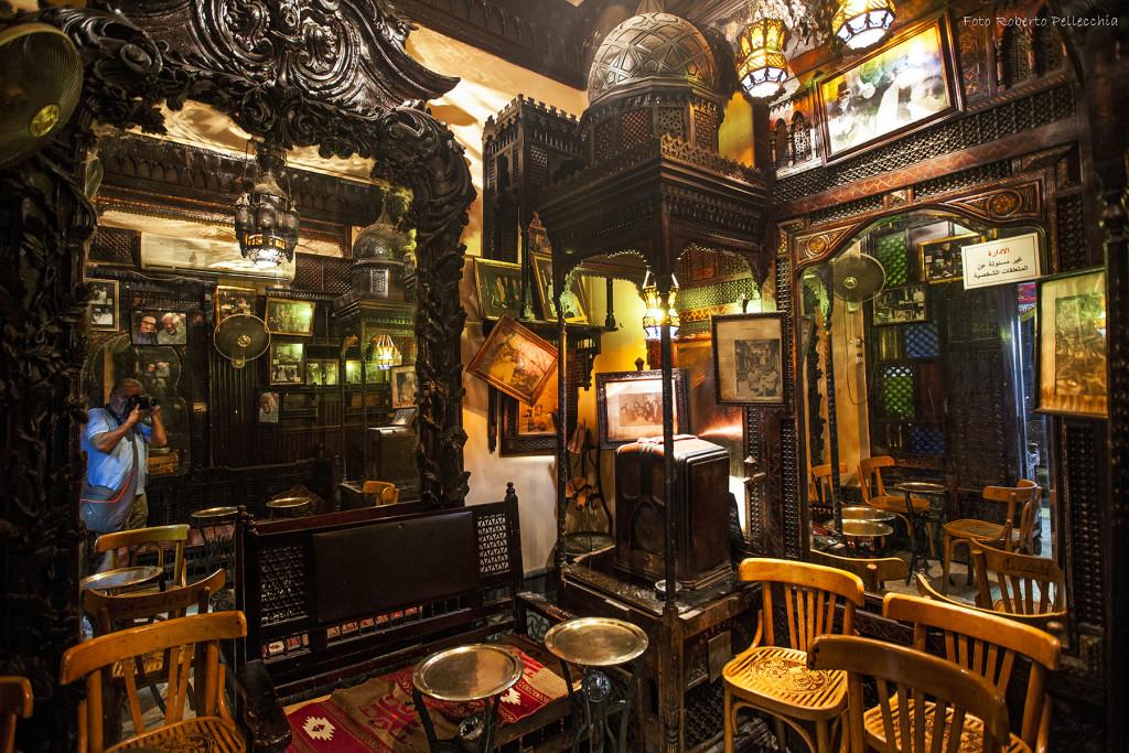 Un caffè antico, Il Cairo