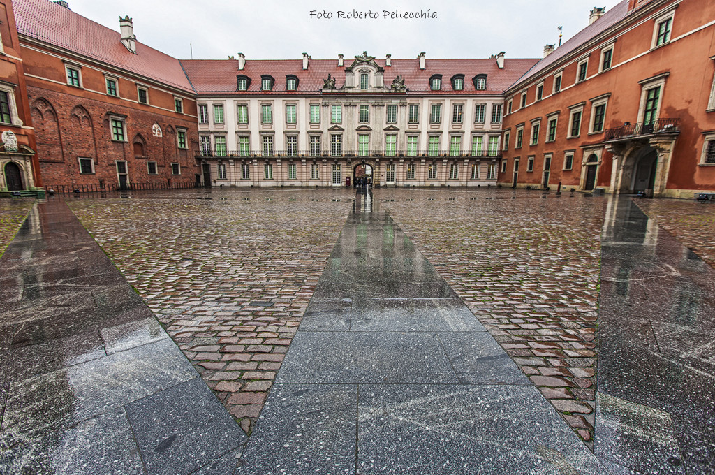 Fb11 Varsavia interno del Palazzo Reale