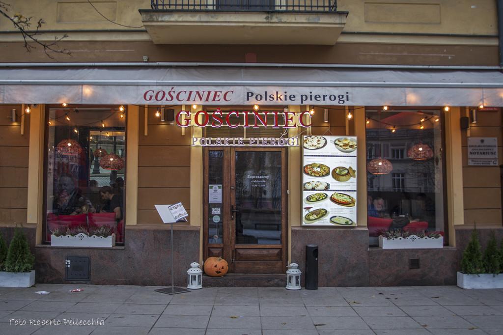 Uno dei ristoranti in cui siamo stati: Gosciniec!