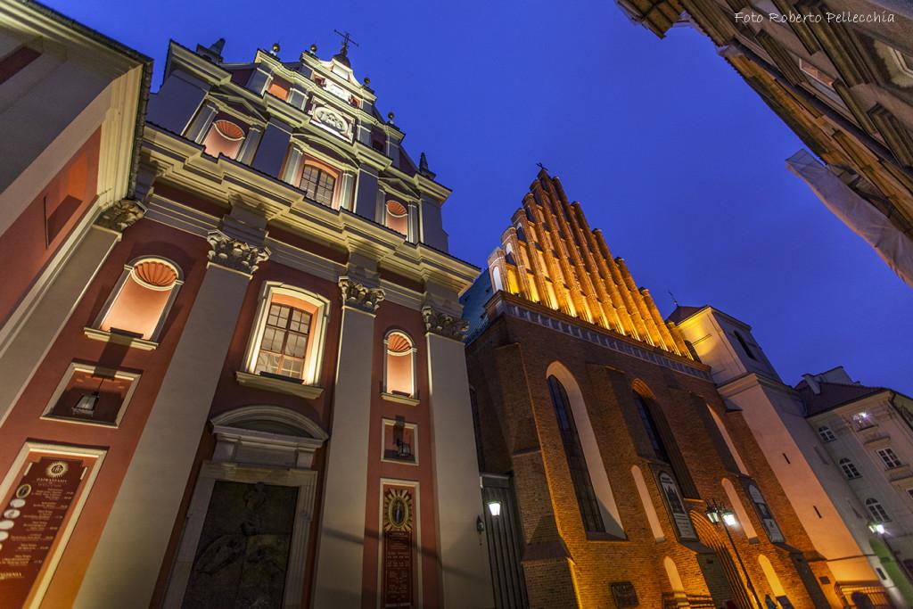Fb9 Varsavia Chiesa di San Giovanni e altra chiesa