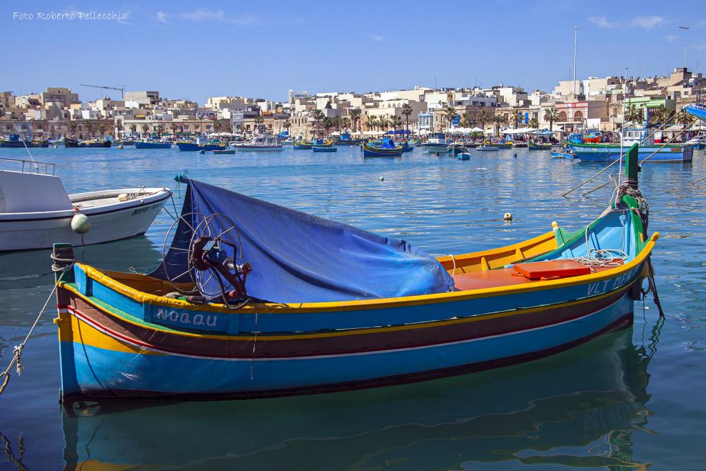 Barca a Marsaxlokk