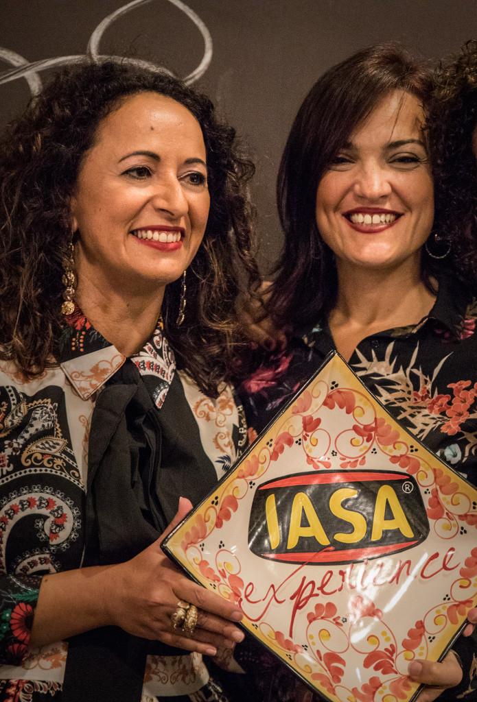 #iasaexperience da sx Lucia Di Mauro e la vincitrice Francesca Pace