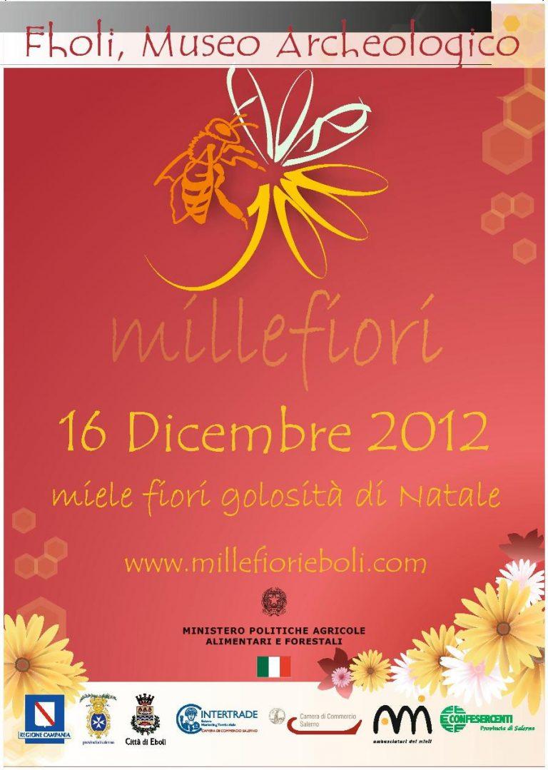 16 dicembre. Torna MilleFiori: dai prodotti locali la ricetta della rinascita