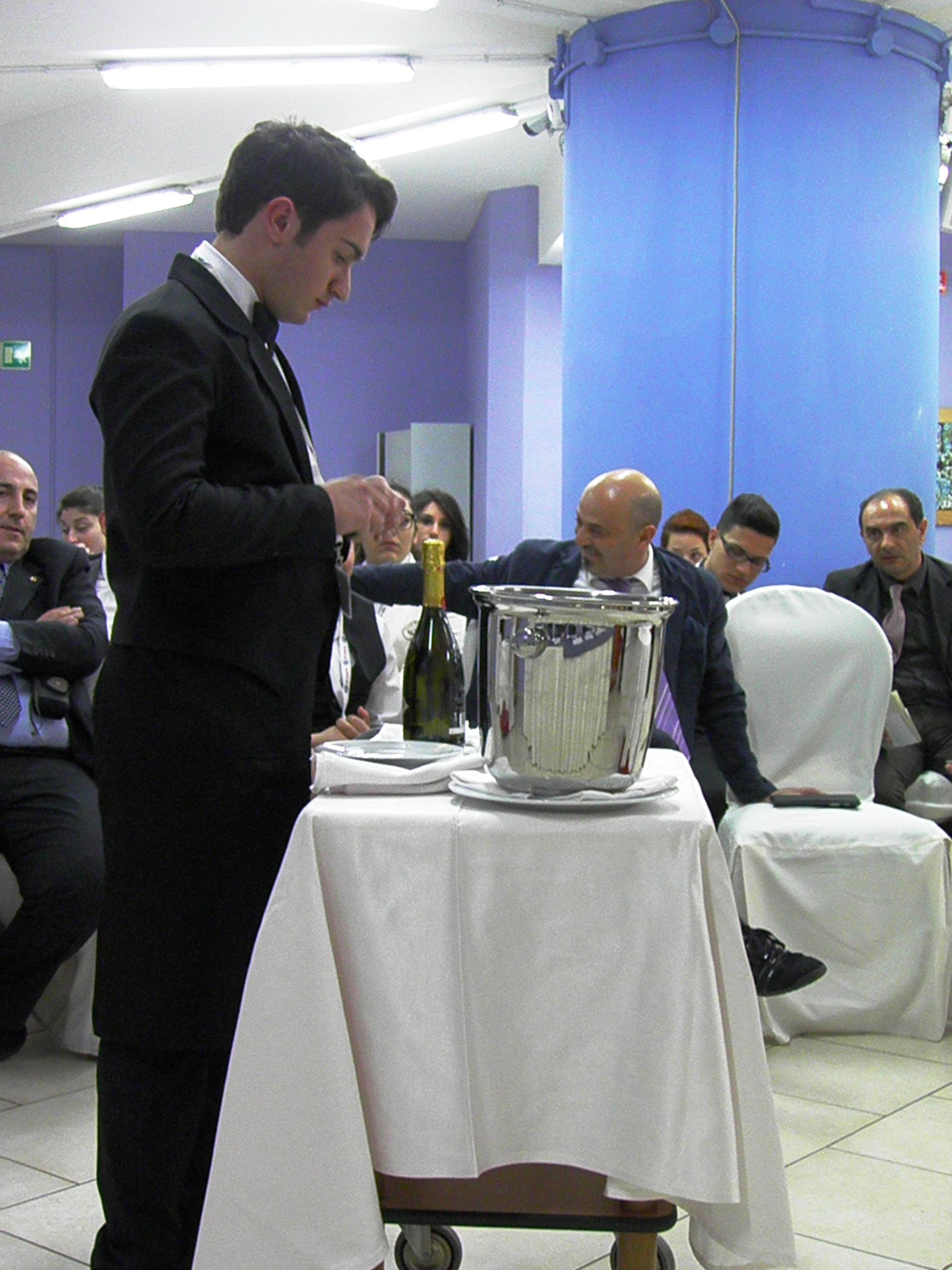 Antonio Ogliaro durante la prova