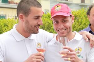 I vincitori della pizza Enrico Lombardi e Toto Sorbillo