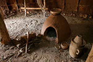 Archeodromo - interno capanna