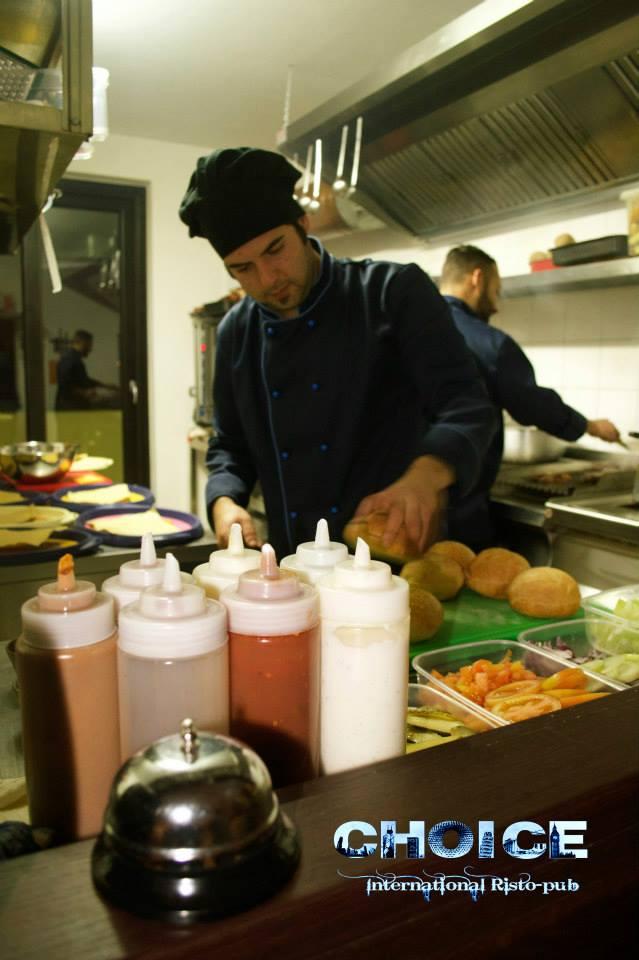lo chef Vincenzo Bisogno
