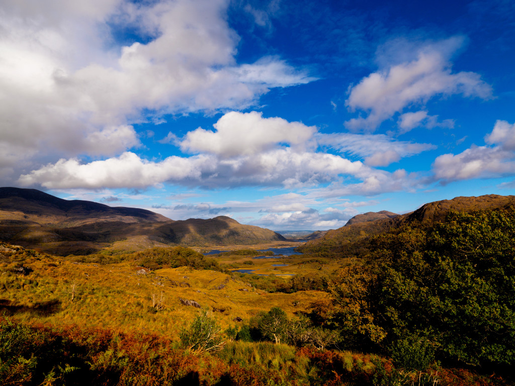 Lady's View, Upper Lakes,Killarney National Park, Co. Kerry.