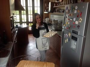 Stefania Cucolo nel suo home restaurant