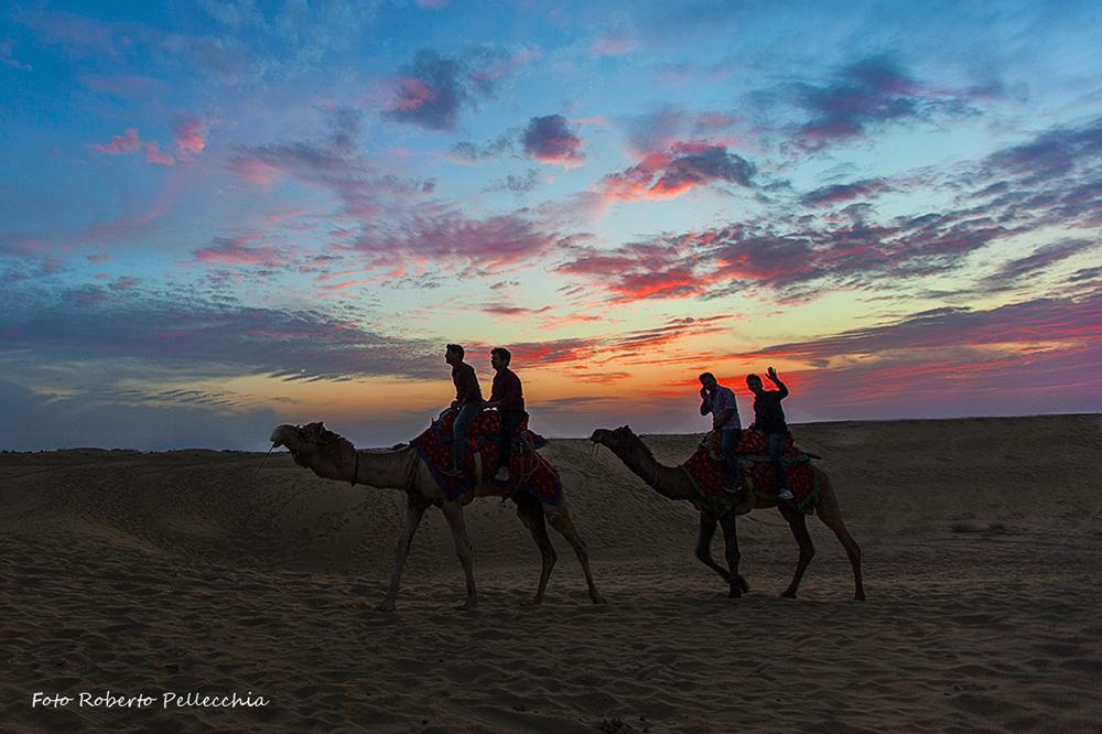 Viaggio in India deserto 2