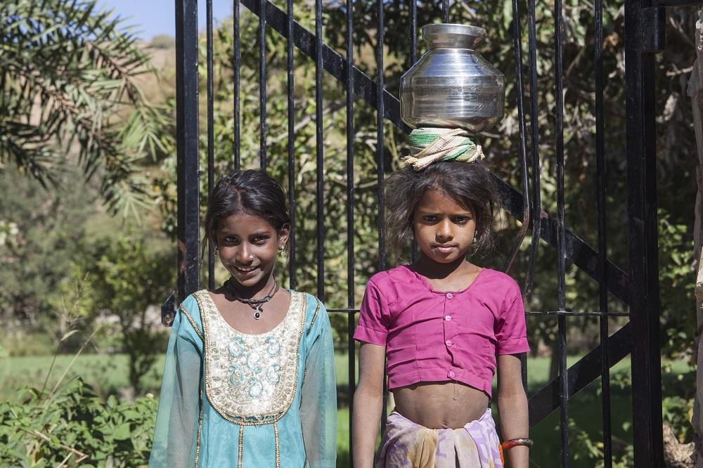 Viaggio in India - Bambine