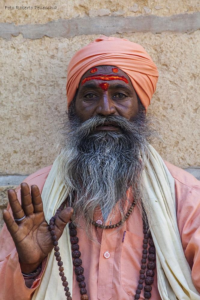 Viaggio in India - Santone