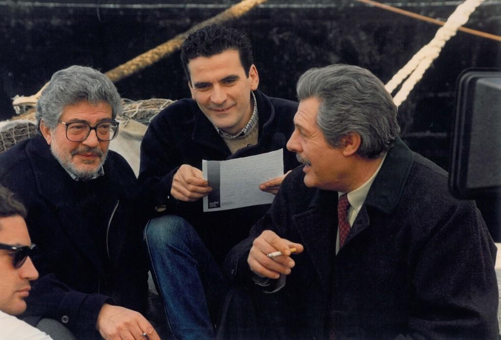 """Sul film """"Che ora è"""", Ettore Scola con Troisi e Mastroianni"""