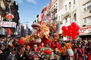 Lunar New Year Parade, Chinatown, Manhattan