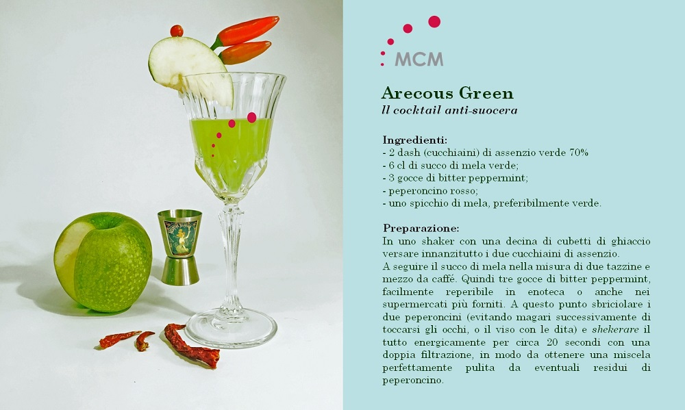 Arecous Green MCM Cocktail anti-suocera RICETTA
