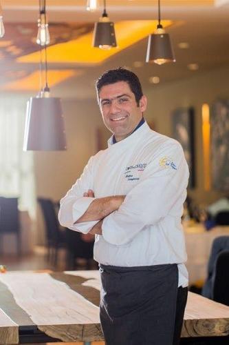 Lo chef Matteo Sangiovanni