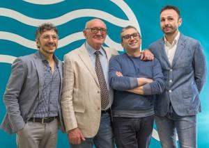 CONSORZIO ECCELSE FUCINE da sx Angelo Grippa, Fausto Gioia, Carlo Gargiulo e Michelangelo Ricco