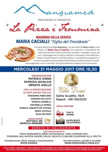 LA PIZZA E' FEMMINA LOCANDINA UFFICIALE EVENTO