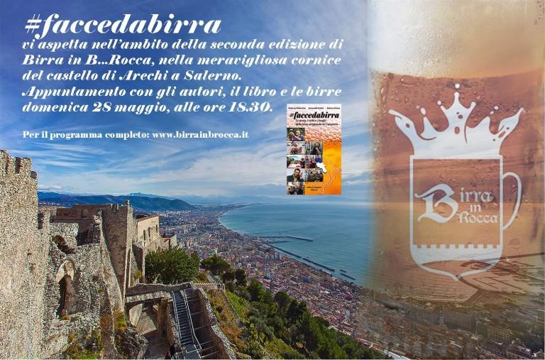 #faccedabirra a Birra in B…Rocca. Domenica, alle 18:30, al Castello Arechi