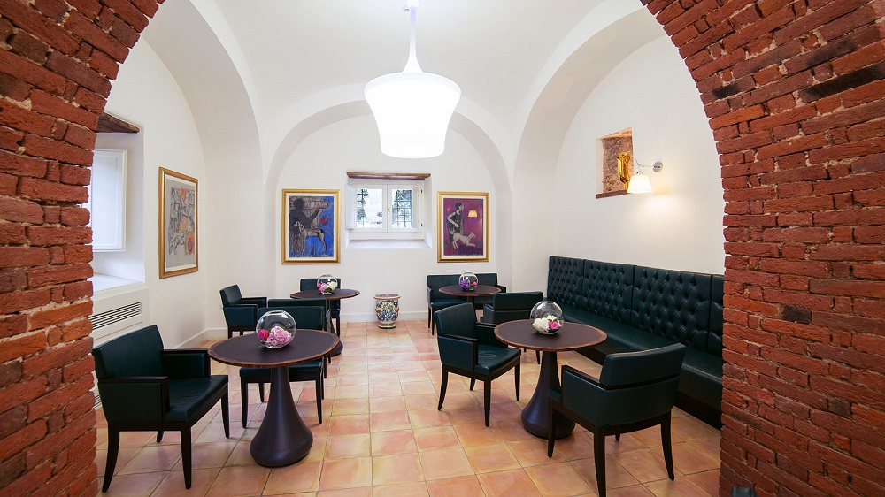 Salotto interno Boutique Hotel