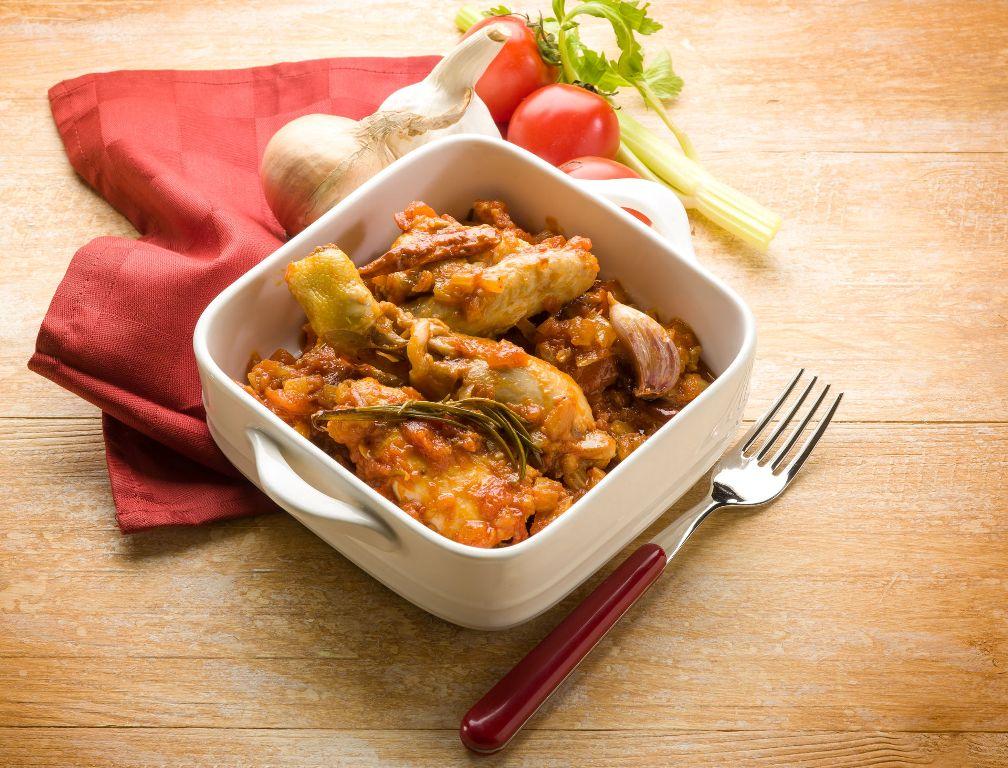 29025847 - chicken cacciatora italian traditional recipe