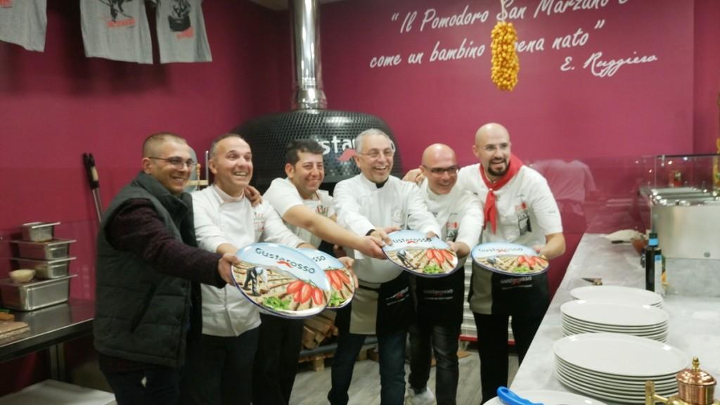 i pizzaioli con Paolo Ruggiero
