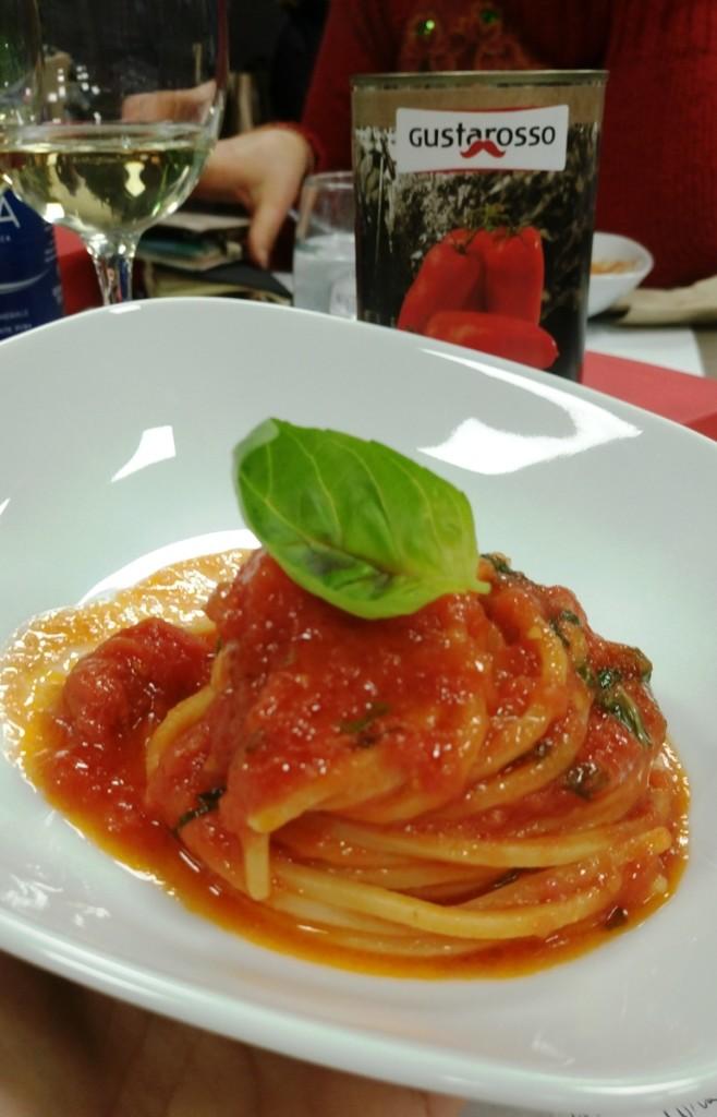 lo spaghetto con Gustarosso