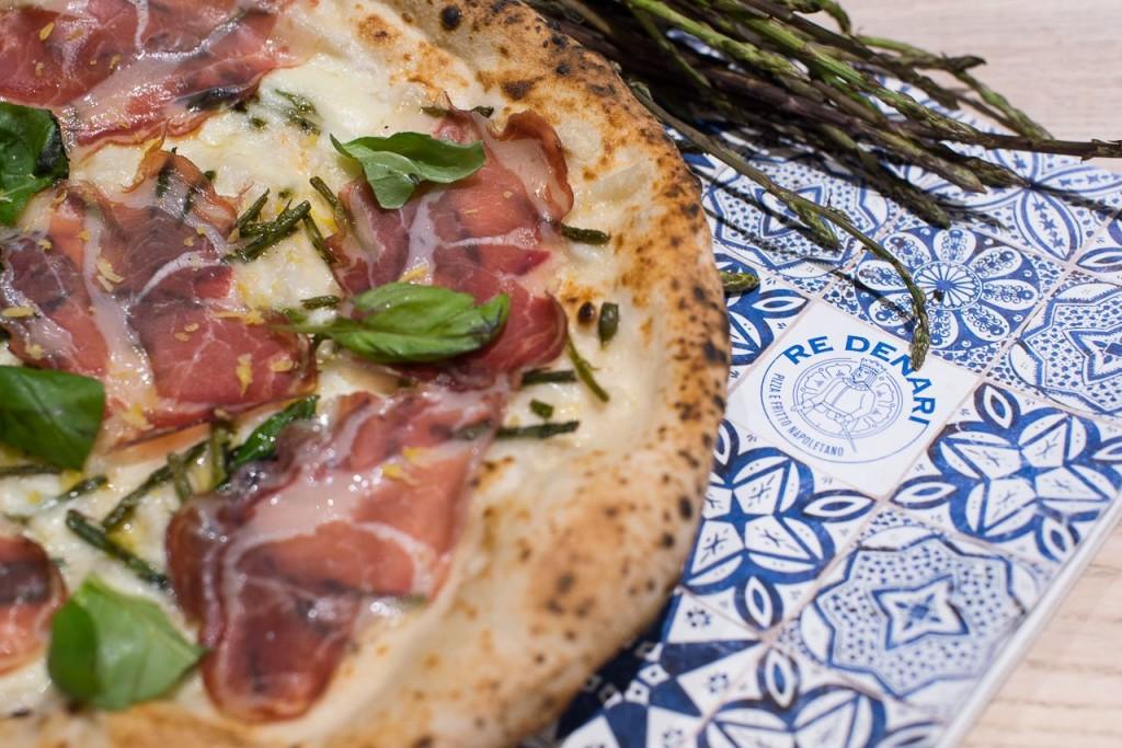ASPARAGUS - nuova pizza RE DENARI