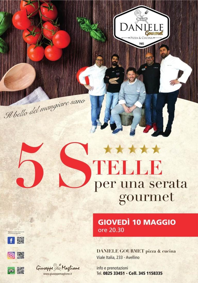 """Da Daniele Gourmet """"Pizza da chef"""". 5 chef a celebrare la pizza gourmet"""