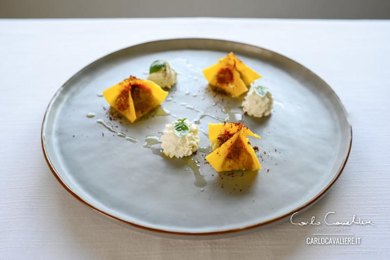 PIATTI d'Autore. Fagottini ripieni di Parmigiana dello chef Antonio Petrone