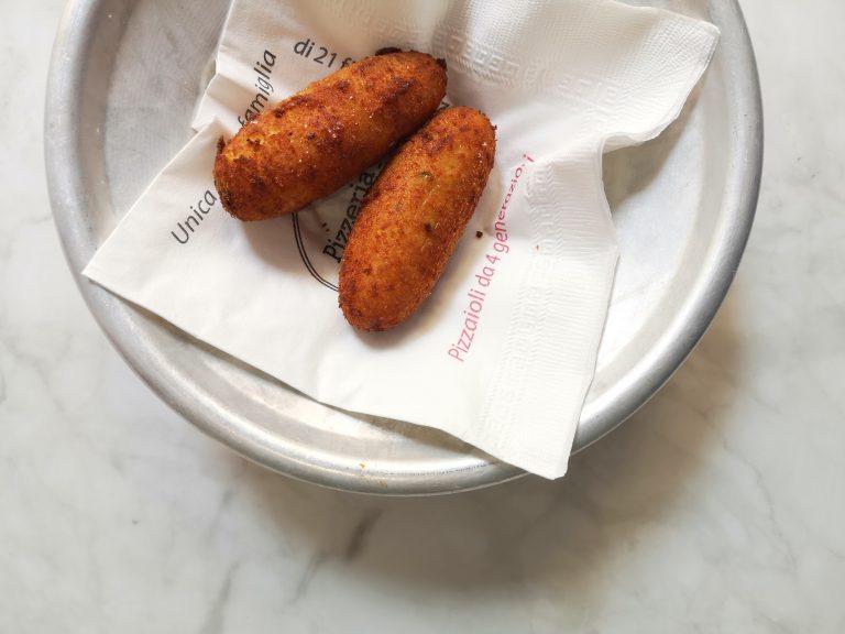 Pane&Rosmarino n°12. Il crocchè di patate di Rodolfo Sorbillo