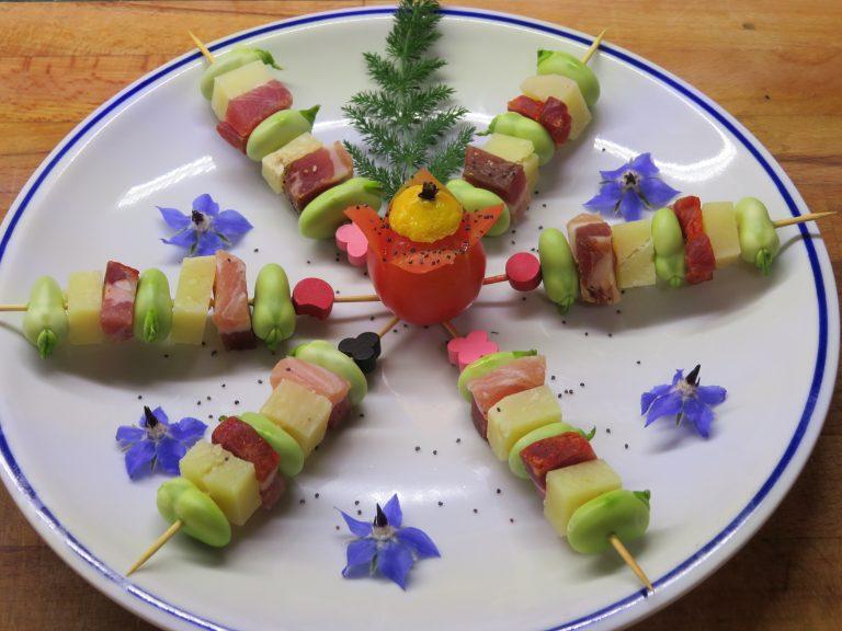 Benvenuta primavera! Pecorino, pancetta e fave fresche